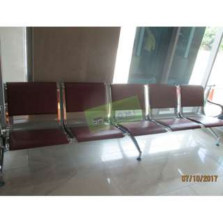 MAROON 5 SEATER GANG CHAIR WITH CUSHION--KHOMI