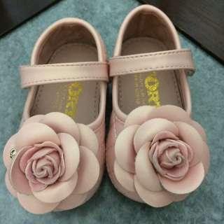 Baby Girl Flower Shoe