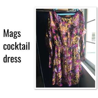 👗 (w/ Special Offer) MAGS Purple Cocktail Dress