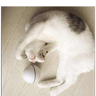 Toys For Cat - Ball Interactive Automatic Rolling Light Entertainment Exercise For Cats And Puppy Dogs(9 Batteries Included)