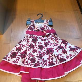 #BuahHatiku Pink Batik Dress