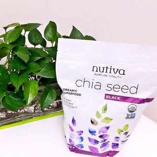 Nutiva Chia Seed有機奇異籽32oz