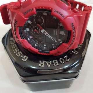 G-Shock RED ORIGINAL WATCH
