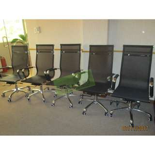 EXECUTIVE MESHBACK CHAIRS--KHOMI
