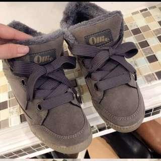 Ollie 韓國內增高刷毛短靴