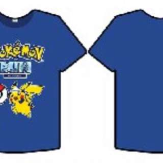 Looking For Pokemon Run 2017 Blue Tee
