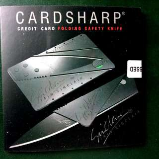 Card Sharp Foldable Pocket Knife