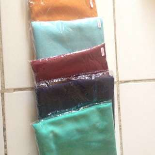 Hijab instan pashmina 5 pcs for 100.000