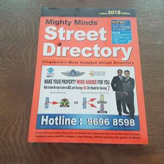 2018 Street Directory for sales