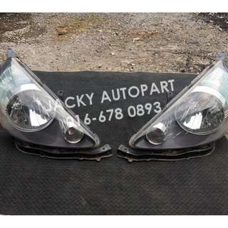 Lampu Headlamp Smoke Honda Jazz Fit Gd3 Japan