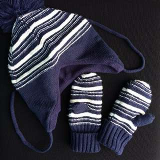 H&M Winter Cap & Glove