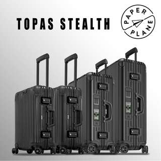 【PAPERPLANE】ETAG l RIMOWA Stealth Series 923/4.xx.014/5 行李箱 旅遊 旅行