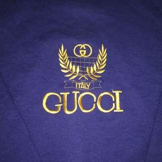 Vintage 90's Bootleg Gucci Jumper