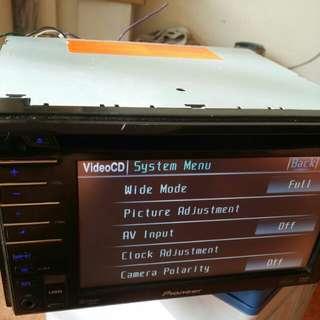 Pioneer car DVD player/monitor