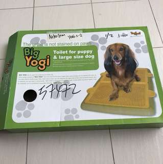 Big Yogi Toilet for puppy & large size dogs