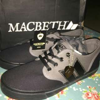 [BNIB-BNWT] Macbeth Langley Black-Dark Grey (Rare item)