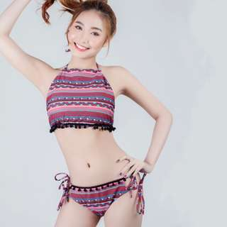 Nhaijel Symetric Design Two Piece Swimwear