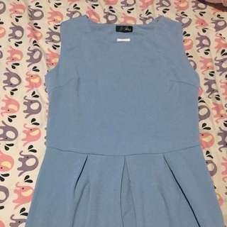 Teal Blue Dress