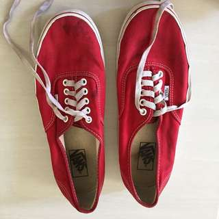 Vans Authen Red Original sz 43