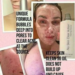 Clear acne set