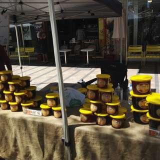 天然蜂蜜……(正原産地:澳洲)