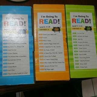 啟思英文書共三套36本