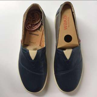 New Wakai Hashigo Blue Grey