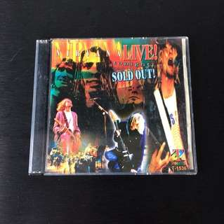 Collector's Nirvana 'Sold Out! Live' Performances on VCD