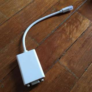 Apple original mini dvi to vga for macbook