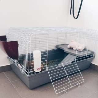 Large Rabbit Cage / Guinea Pig Cage