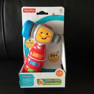 BN Fisher Price count and learn hammer