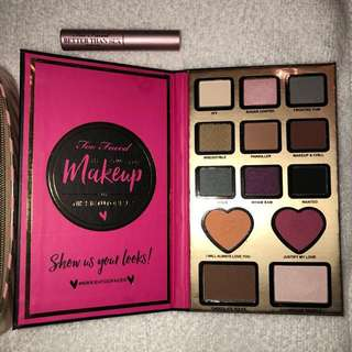Too Faced Makeup Lot