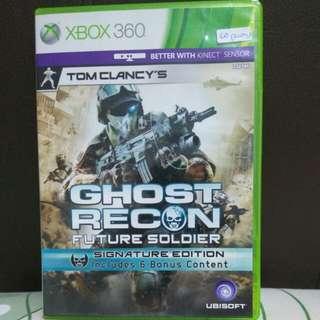 Xbox 360 Game ghost recon: future soldier - signature edition