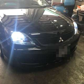 High spec Hid conversion for lancer cs3