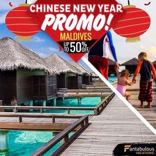 CNY PROMO-Maldives Package