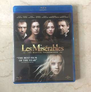 Les Miserables blu ray