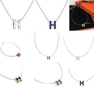 Hermes pop h necklace訂購