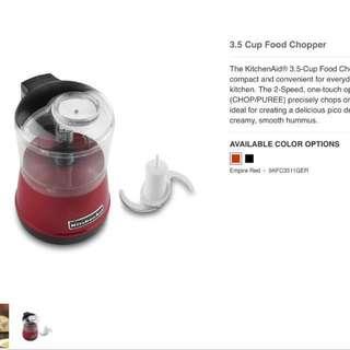 Kitchen Aid Food Chopper
