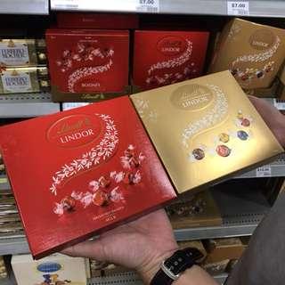 澳洲代購🏳️🌈現時特價美國品牌LINDOR盒裝巧克力