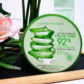 [Nature Republic] Aloe Vera 92% Soothing Gel