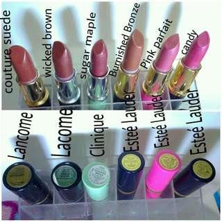 Authentic Lipsticks