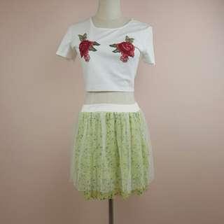 Top $12 skirt $15