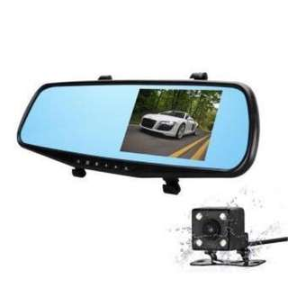 A70 4.3 Inch FHD 1080p Rearview Mirror Camera With Back Up Camera