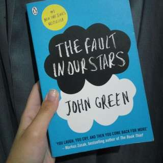 The Fault In Our Stars (English) Book/ Novel