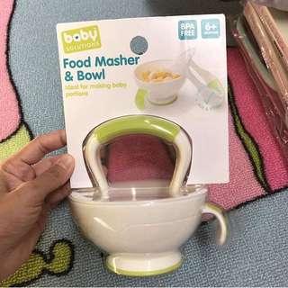 Food Masher & Bowl