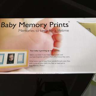 Photo frame (Baby memory prints)