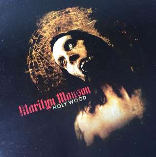 MARILYN MANSON, 'Holy Wood' Album (CD)