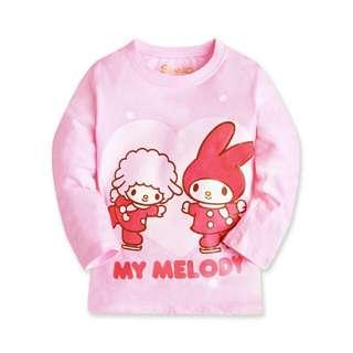 『Melody.快樂來滑冰』基本款薄長T-童裝