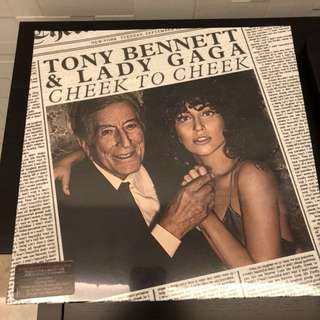Tony Bennet Lady Gaga - Cheek to Cheek. Vinyl Lp. New
