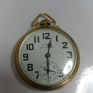 Hamilton Railroad Special Vintage Pocket Watch